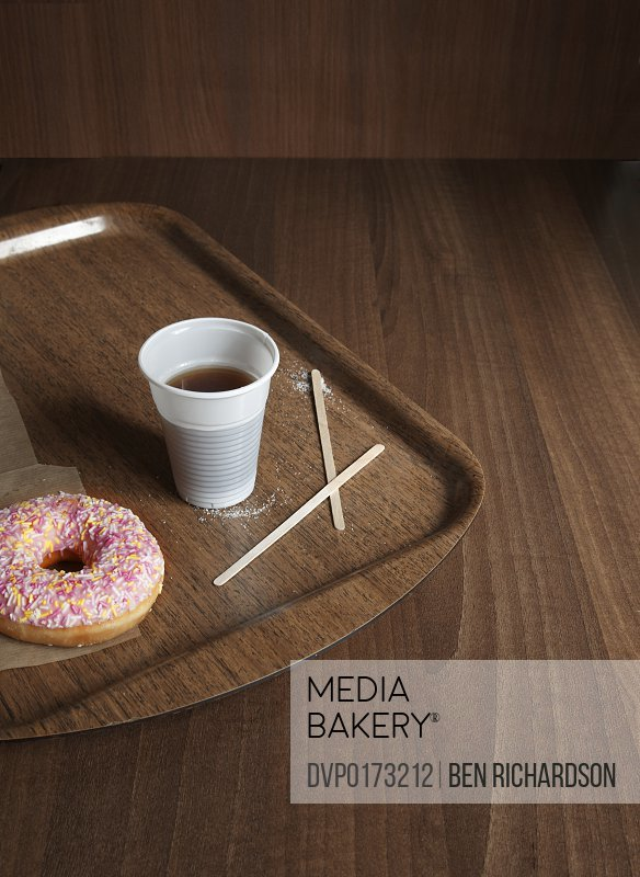 coffee and donut time