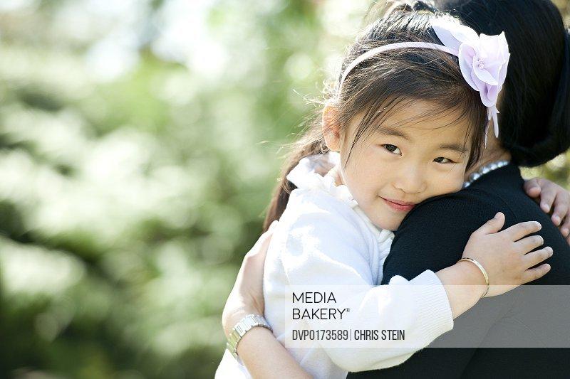 Daughter Smiling