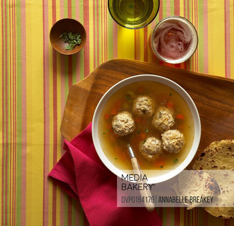 Mexican Meatball Vegetable Soup