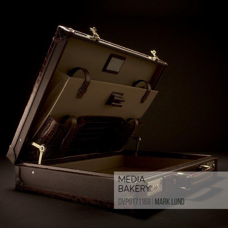 Open Luxury Briefcase