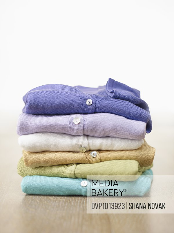 Stack of Cashmere Cardigans