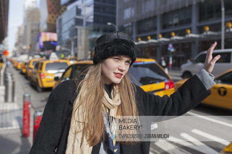 Teen in New York City