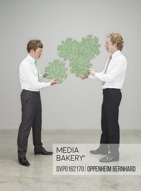Mediabakery Photo By Divine Images Businessmen Men Grey