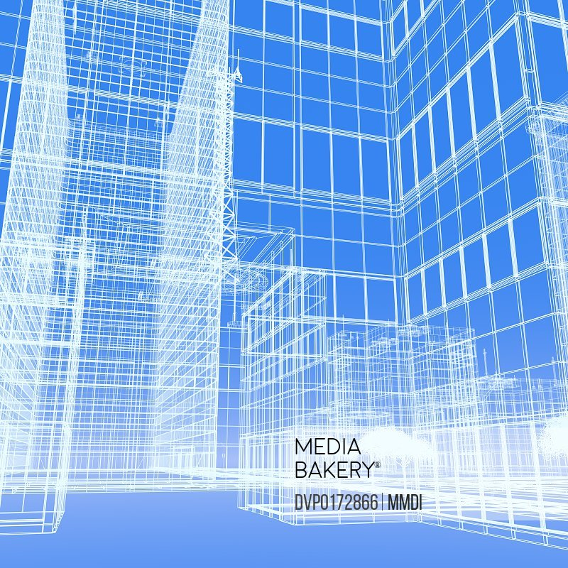 Wireframe Buildings