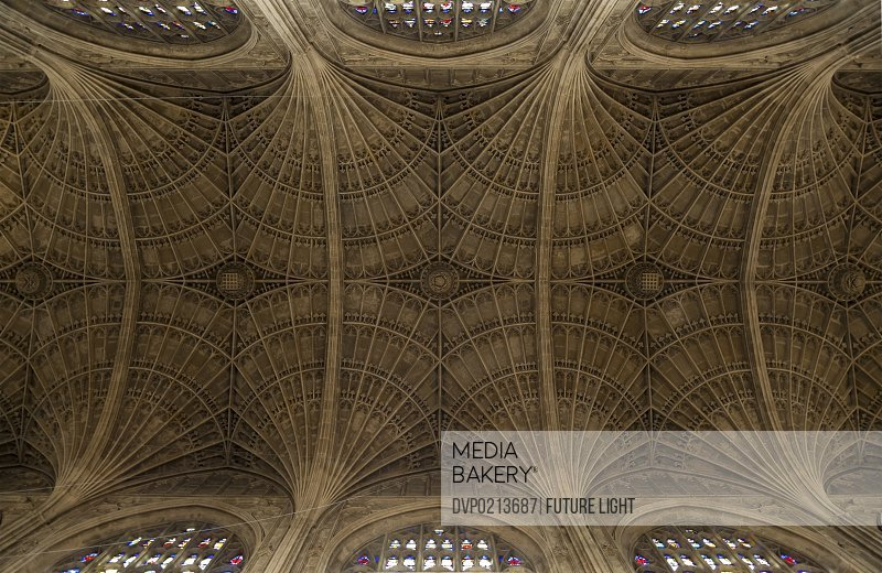The Chapel King's College Fan Vault Ceiling