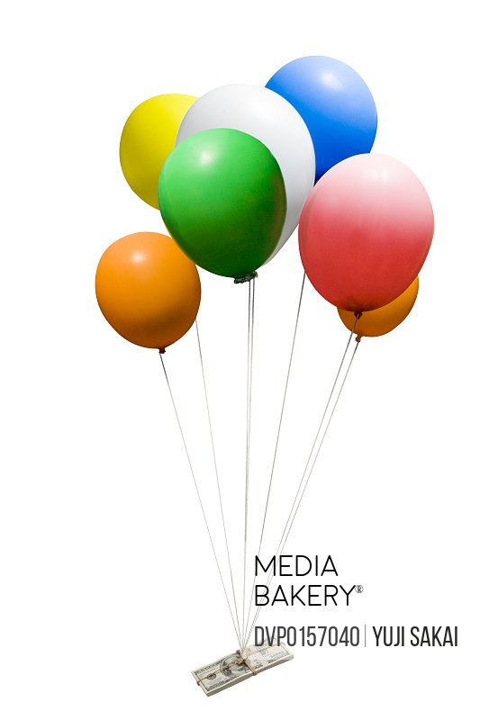 image of dollar & balloon