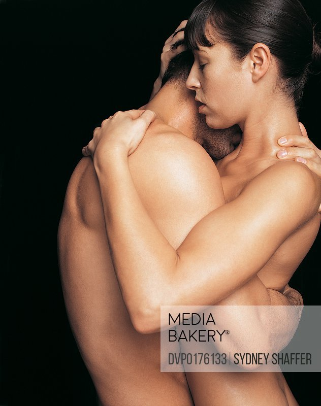 Male and Female Nude in An Embrace