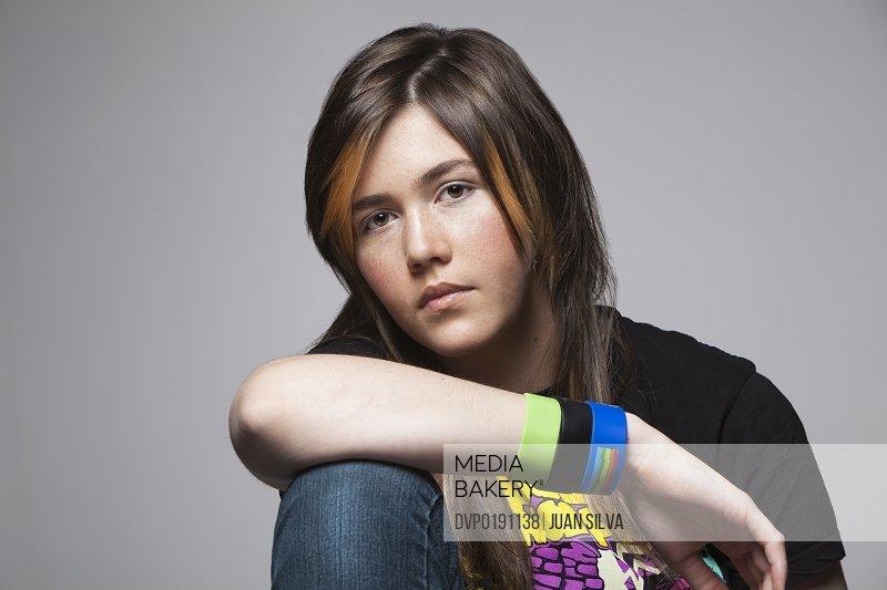 Teenage girl with T-Shirt