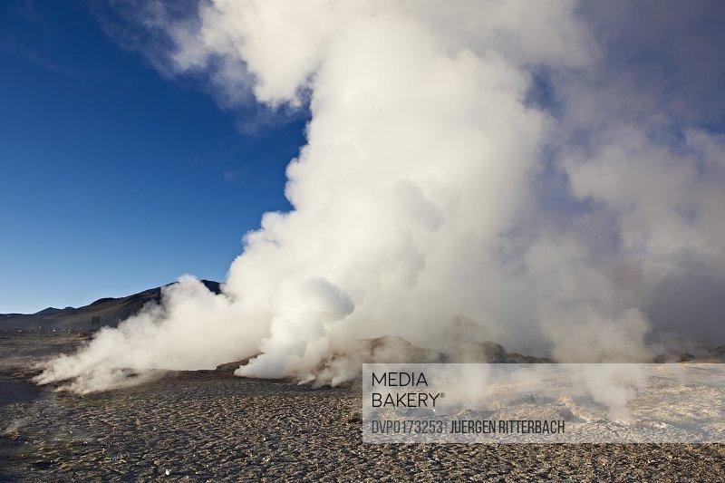 geyser field Sol de Manana