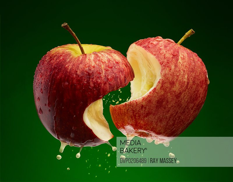 Kissing Apples