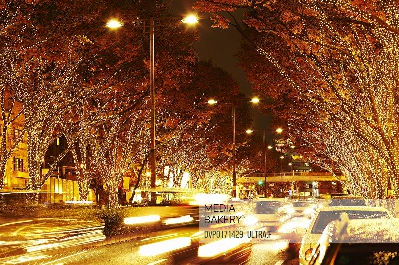 Illumination in Harajuku