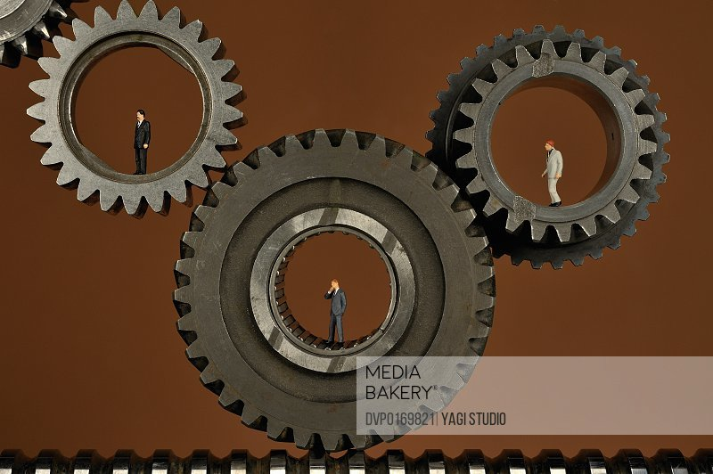 Iron composition such as a gear