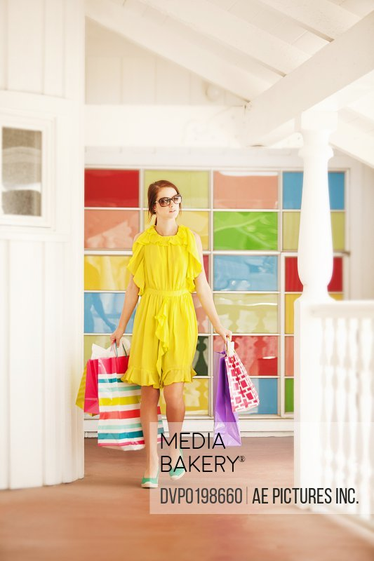 Woman shopping