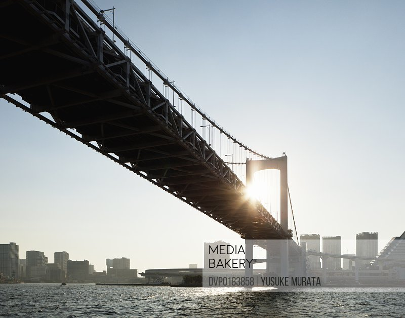 Tokyo Bay Bridge Sunset