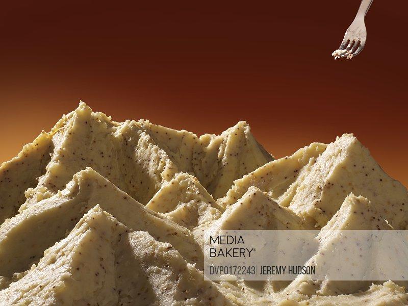 Mountain potato mash/n