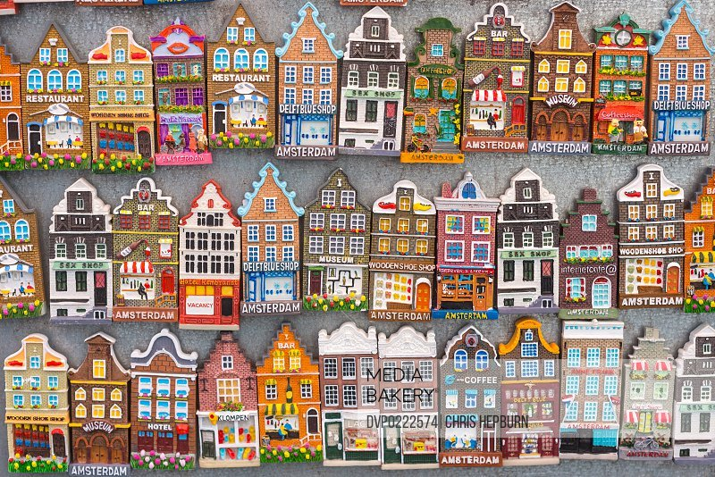 Souvenir Magnets Amsterdam Netherlands