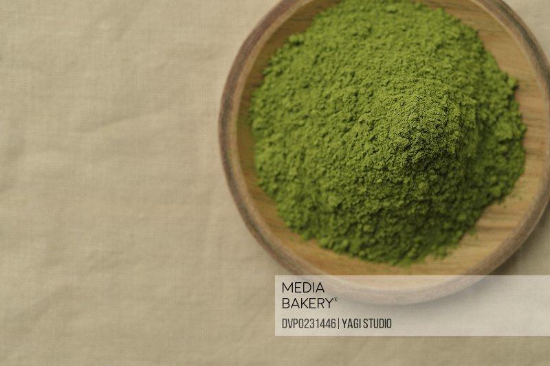 Close up of Japanese Green tea