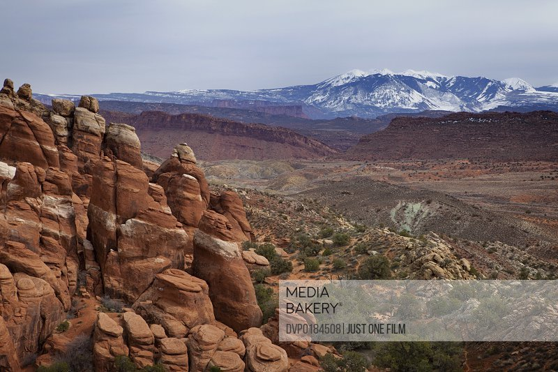Dusk at Fiery Furnace Viewpoint