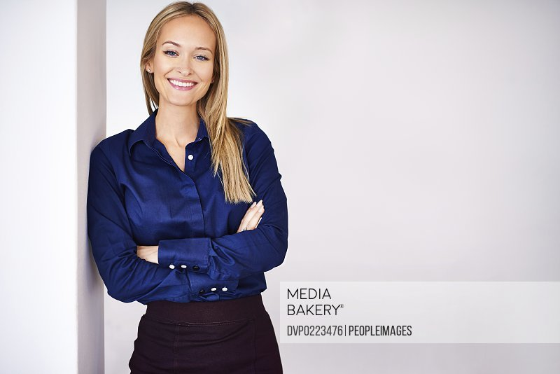 Portrait of a beautiful young professional woman