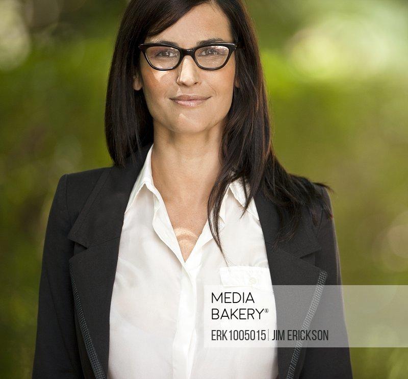 Portrait of corporate woman.