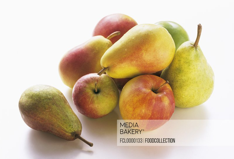 Assorted Pears and Apples