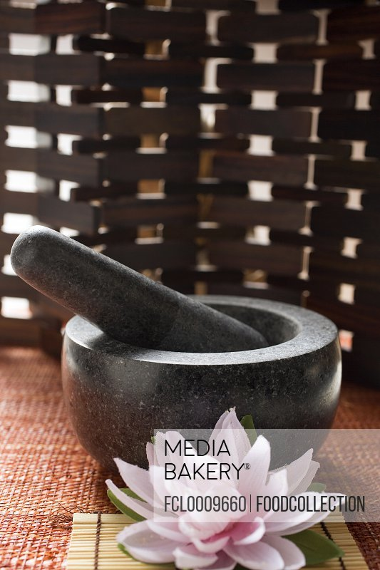 Mortar with pestle (Asia)