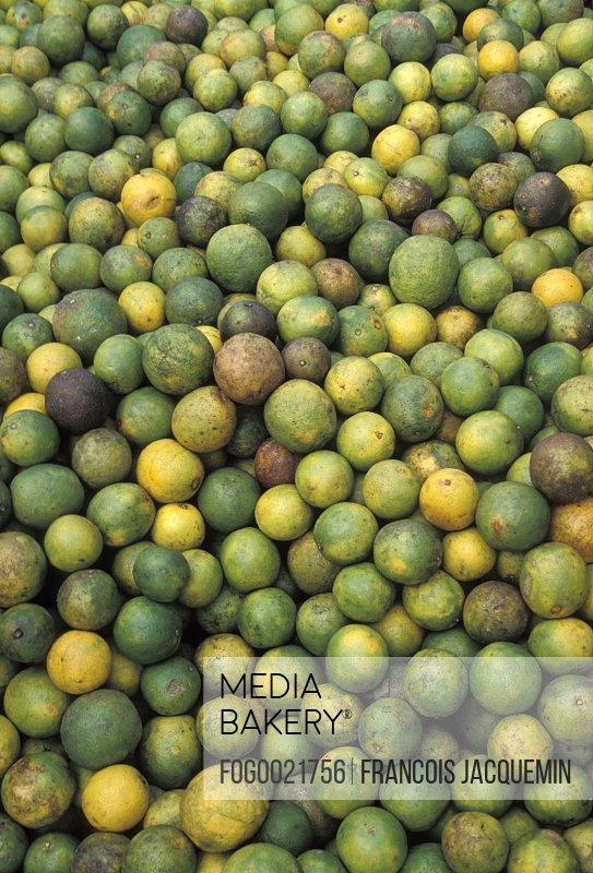 Produce at market in Isla Mujeres, Mexico