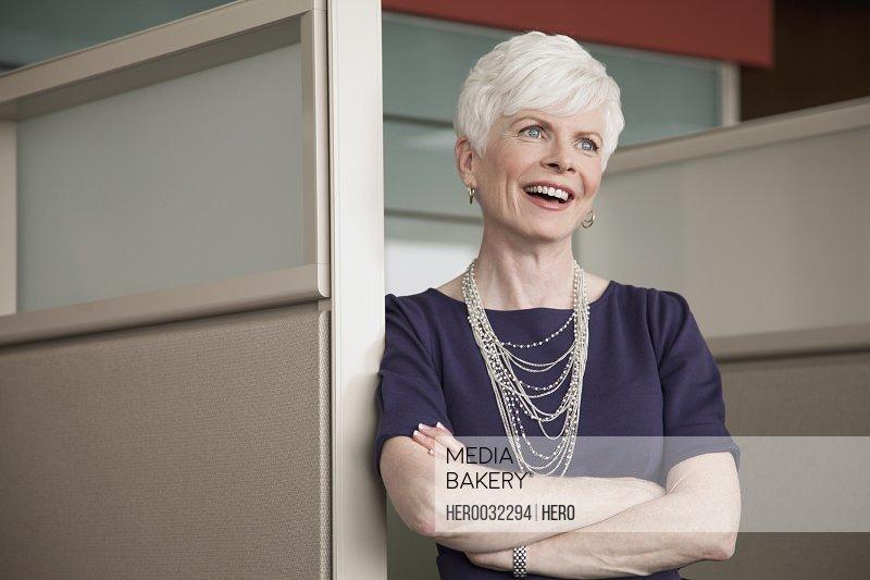 portrait of senior business woman