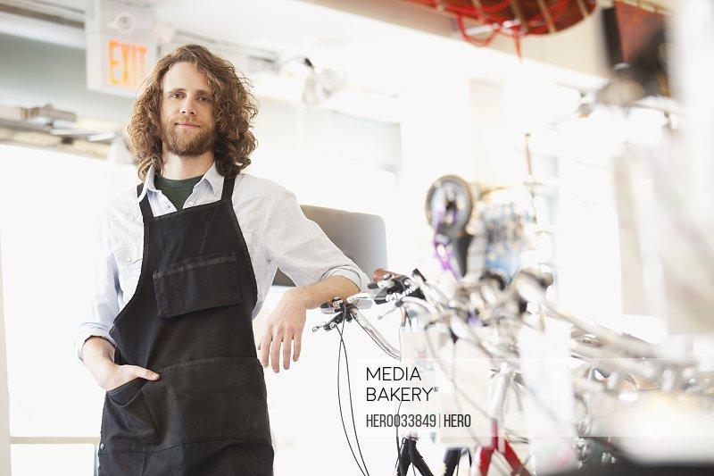 proud bike shop owner