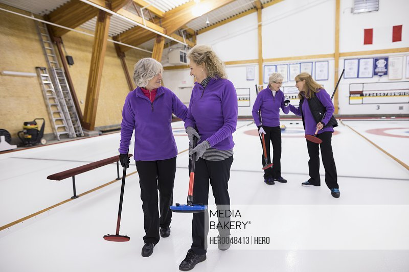 Senior women curling