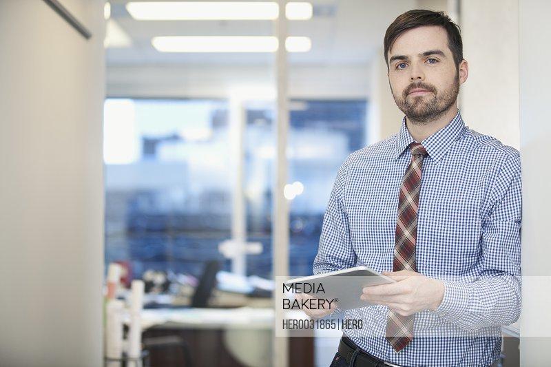 businessman at modern office