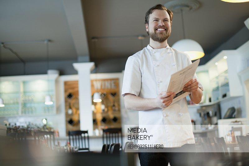 portrait of restaurant owner