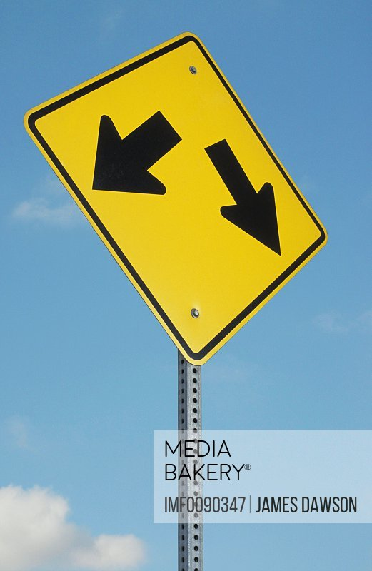 mediabakery photo by image farm triangular yellow road sign with