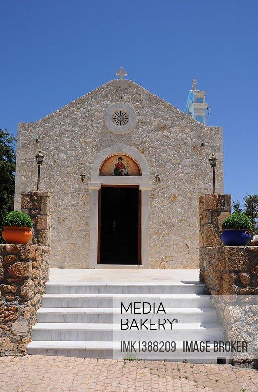 Chapel, Crete, Greece, Europe, PublicGround, Europe