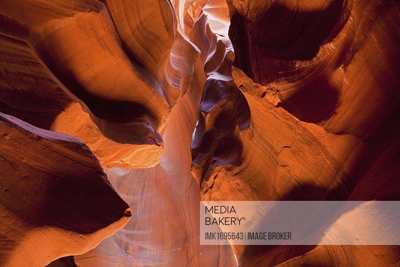 Upper Antelope Canyon, Slot Canyon, Page, Arizona, USA, North America