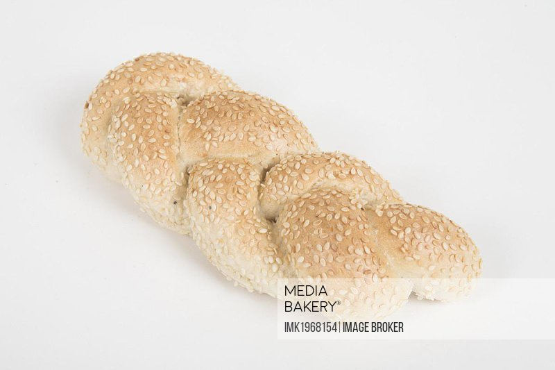 Bread roll with sesame