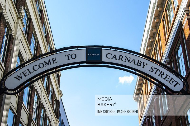 Sign, Welcome to Carnaby Street, London, South England, England, United Kingdom, Europe