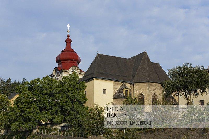 Nonnberg Abbey, Salzburg, Austria, Europe, PublicGround, Europe