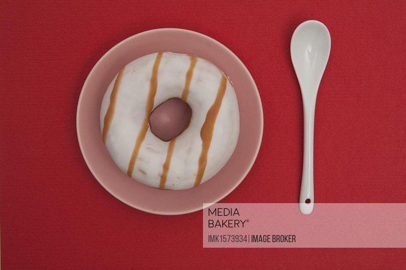 Striped donut