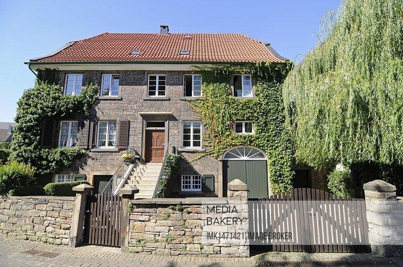 Historic town centre, Herdecke, Hagen, North Rhine-Westphalia, Germany, Europe