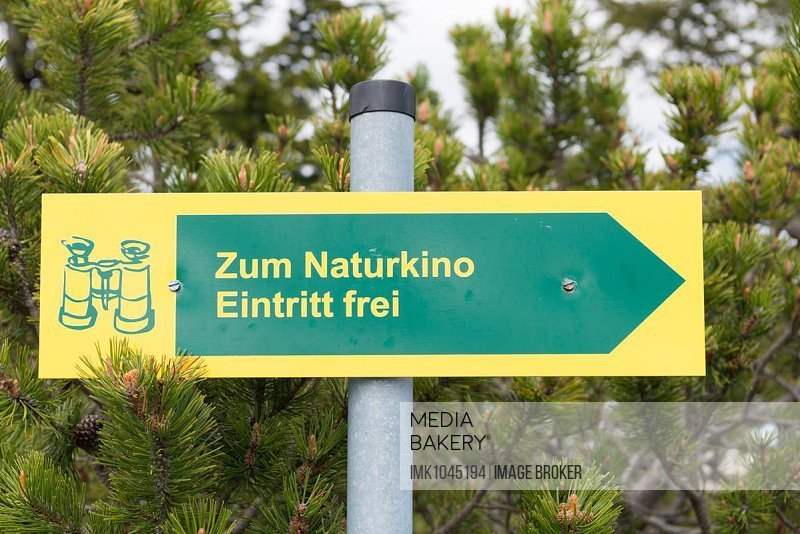 Sign on the summit of the Wank, 1780 m, Estergebirge, Upper Bavaria, Bavaria, Germany, Europe