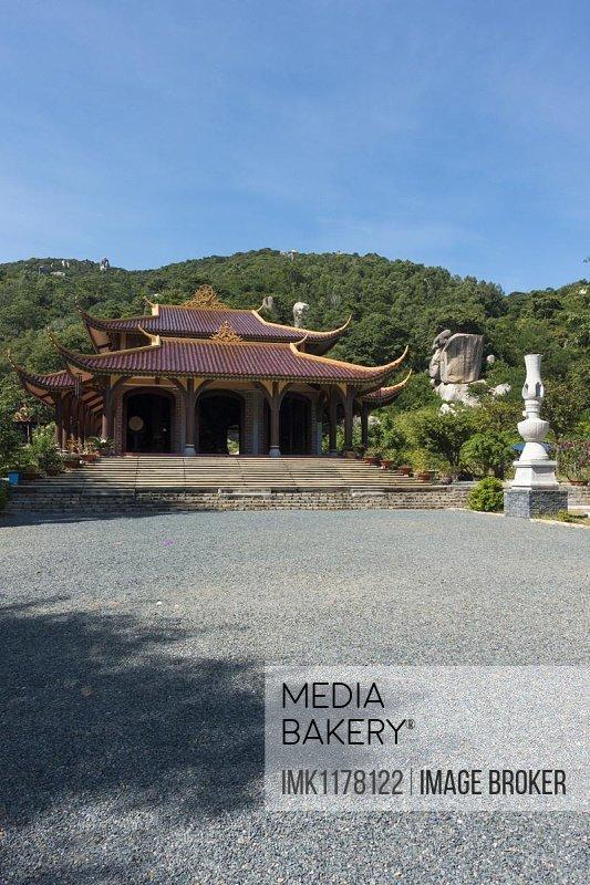 Monkey Temple, near Vung Tau, Vietnam, Asia