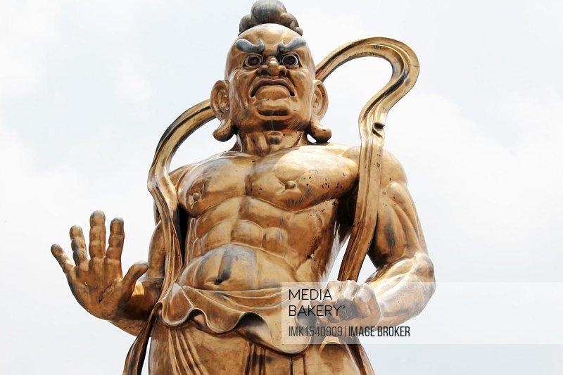 Buddhist temple figure, Malaysia, Southeast Asia, Asia
