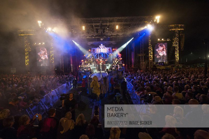 7. Andrea Open Air concert in Aspach, Baden-Wuerttemberg, Germany, Europe