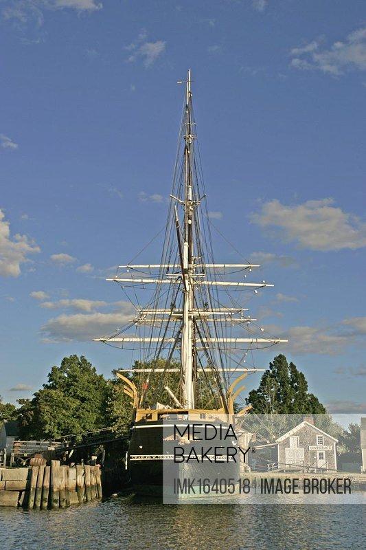 Historic Mystic Seaport Museum, Connecticut, New England, USA, North America