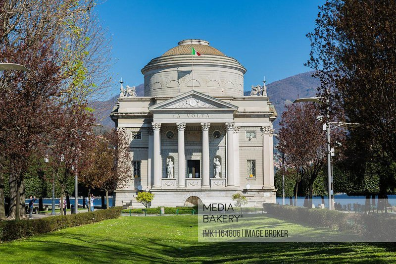 Tempio Voltiano, Como, Lombardy, Italy, Europe