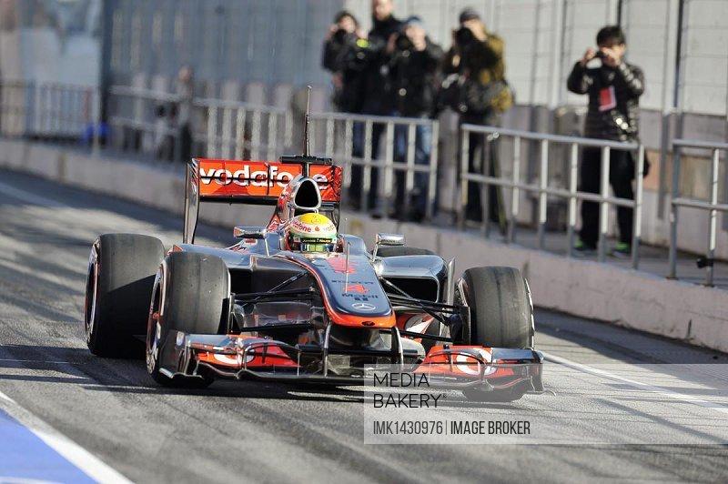 Lewis Hamilton, GBR, McLaren Mercedes MP4-27, Formula 1 test drives, 21.-24.2.2012, Circuito de Catalunya near Barcelona, Spain, Europe