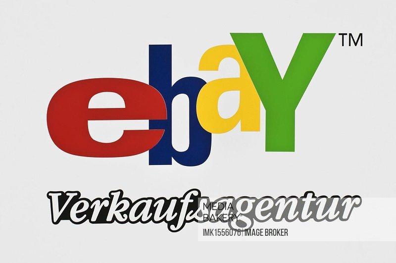 Sign, Ebay tm, online auction website