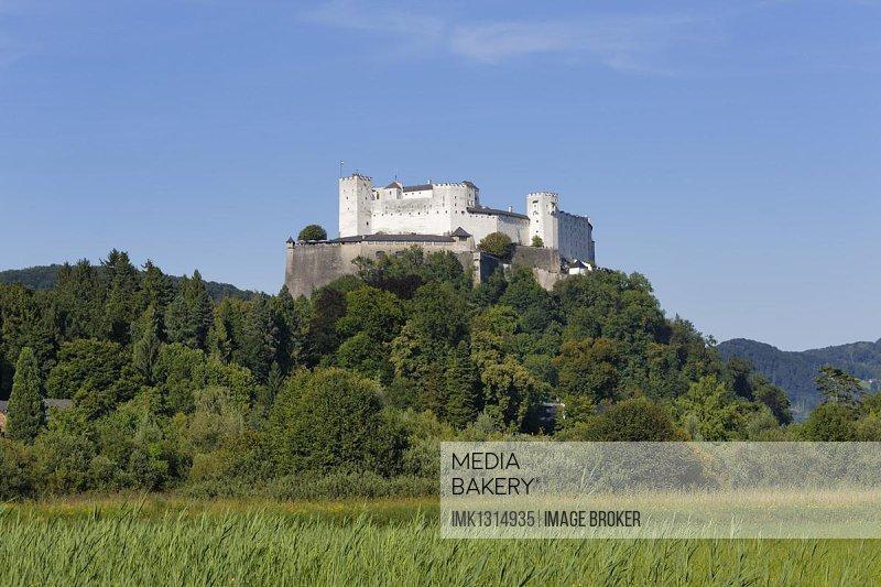 Hohensalzburg Castle, Salzburg, Austria, Europe, PublicGround, Europe