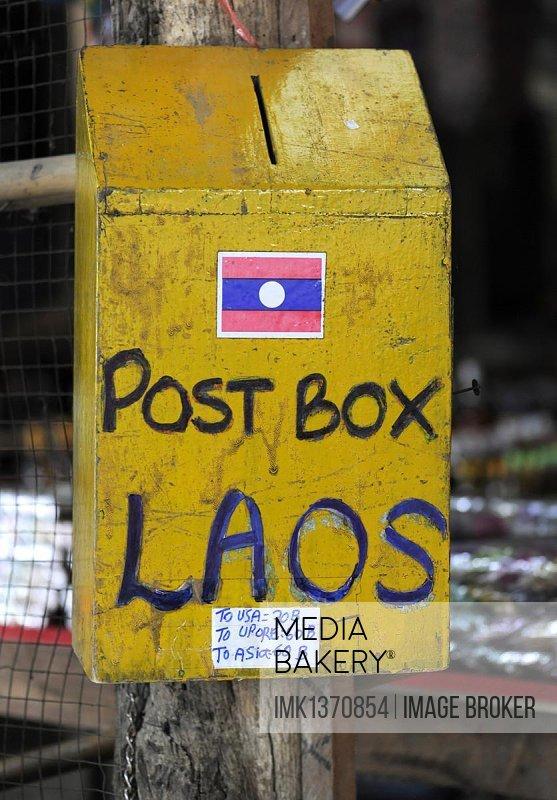 Mailbox, Don Sao, Laos, Southeast Asia, Asia